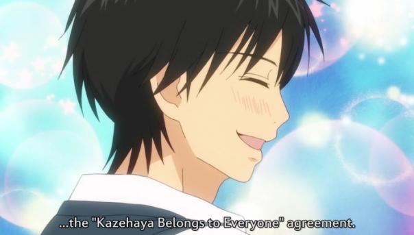 No es por nada, pero le hice un screencap a todas las sonrisas de Kazehaya XD