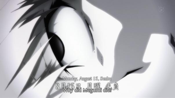 ¿Por qué tuvo que morir Megumi?