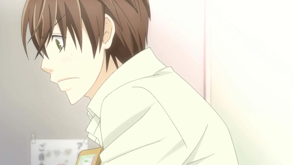 Sekai-ichi Hatsukoi 03: No llores, preciosura, él sólo intentó violarte, nada más :( (5/6)